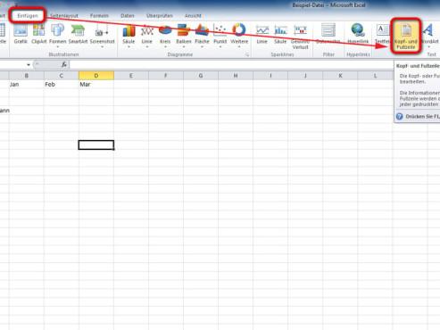 Schritt 2 ©Microsoft Excel 2010