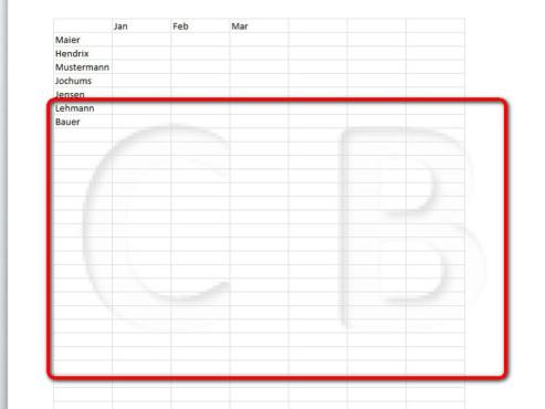 Schritt 7 ©Microsoft Excel 2010