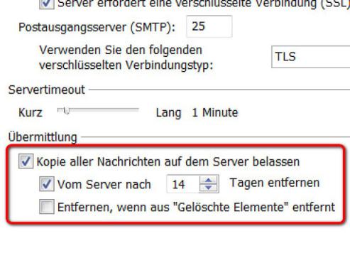 Schritt 7 ©Microsoft Outlook 2010