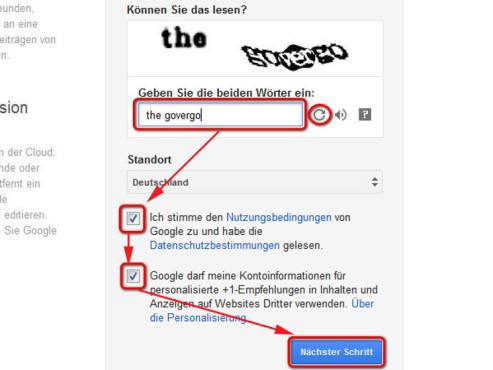 Schritt 4 ©Google