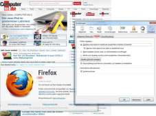 Firefox 12 im Praxis-Check&nbsp;&copy;&nbsp;COMPUTER BILD