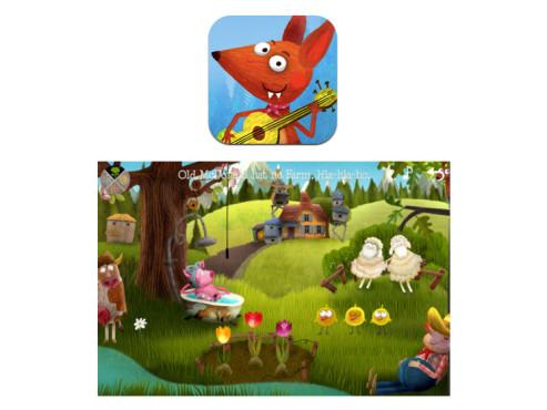 Kleiner Fuchs – Kinderlieder ©Shape Minds and Moving Images GmbH