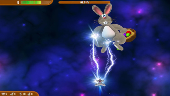 Chicken Invaders: Revenge of the Yolk (Easter Edition) ©COMPUTER BILD