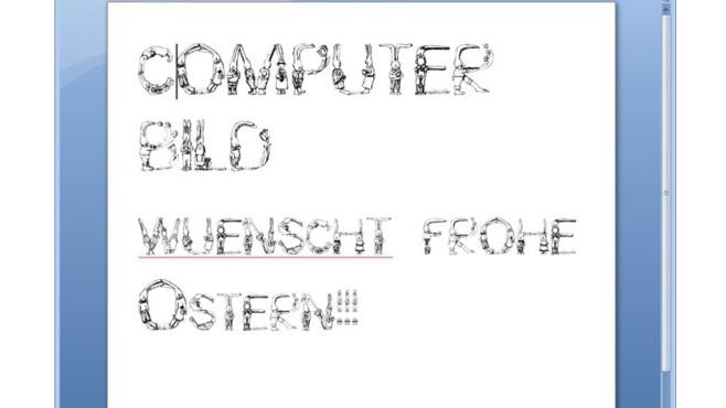 Easter Fonts (Schriftarten zu Ostern) ©COMPUTER BILD