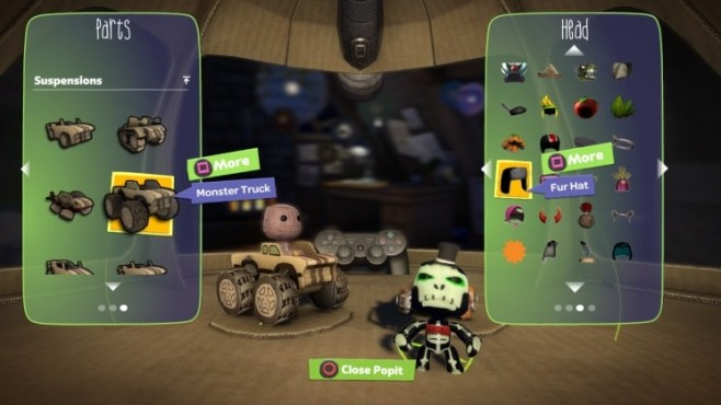 Rennspiel Little Big Planet Karting: Editor © Sony