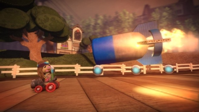 Rennspiel Little Big Planet Karting: Rakete © Sony