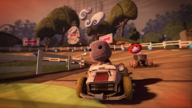 Rennspiel Little Big Planet Karting: Sackboy © Sony