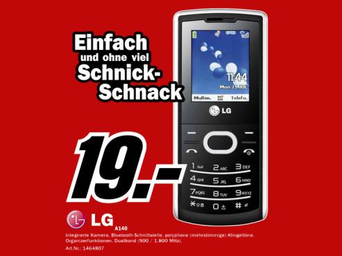 LG A140 ©Media Markt