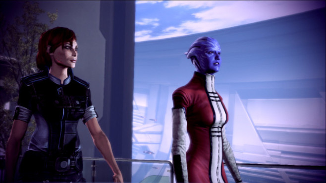 Rollenspiel Mass Effect 3: Priorität – Thessia © Electronic Arts