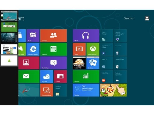 "Platz 21: Windows 8 (""Consumer Preview"", 64 Bit) (neu) © Microsoft"