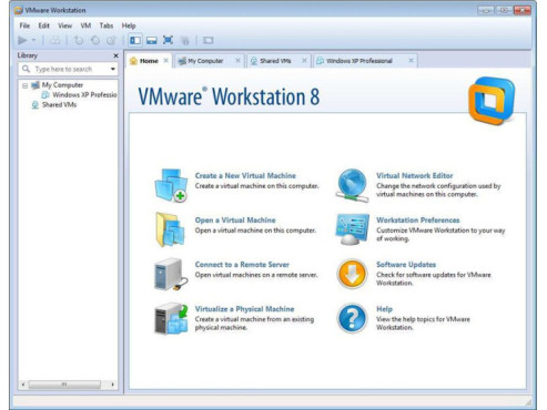 VMware Workstation © COMPUTER BILD