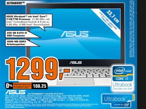 Asus Ultrabook UX31E-RY010V