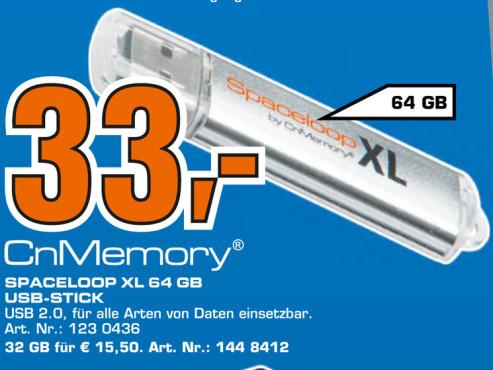 CnMemory Spaceloop XL 64 Gigabyte