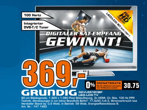 Grundig 32VLE6120BF