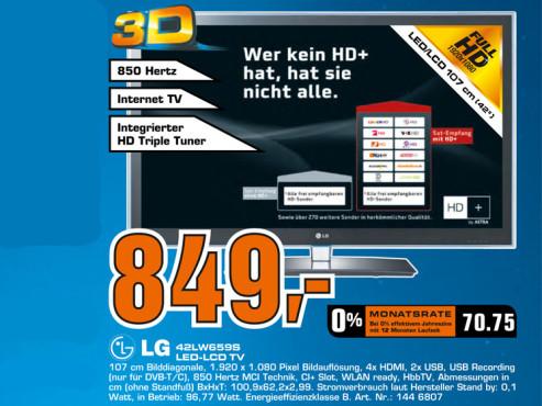 LG 42LW659S