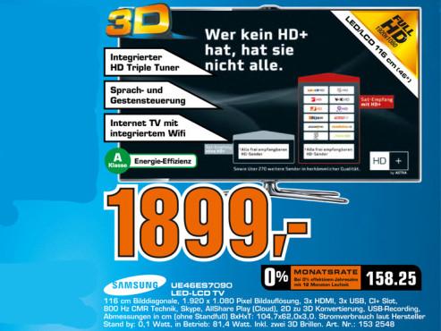 Samsung UE46ES7090