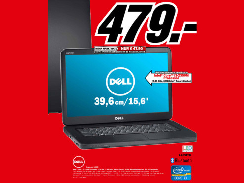 Dell Inspiron N5050 © Media Markt
