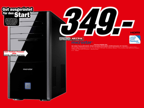 Microstar Professional G620500/8150 ©Media Markt