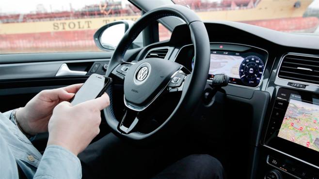 Apple CarPlay im VW Golf 8 ©COMPUTER BILD