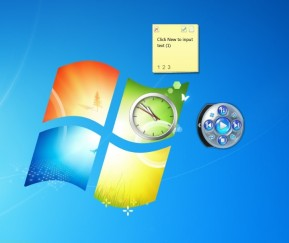 Windows Seven Sidebar
