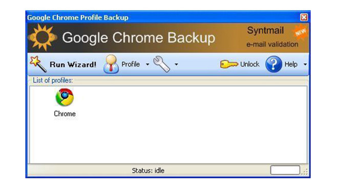 Google Chrome Backup © COMPUTER BILD