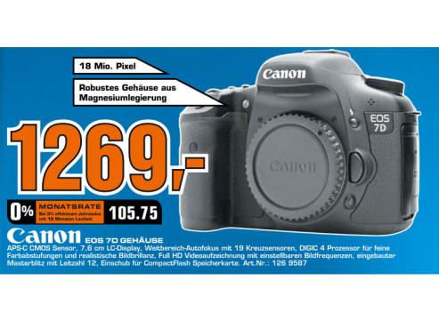 Canon EOS 7D Geh�use ©Saturn