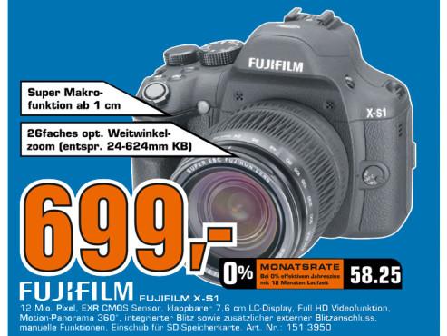 Fujifilm FinePix X-S1 ©Saturn