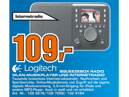 Logitech Squeezebox Radio © Saturn