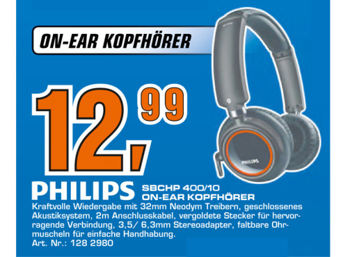 Philips SBCHP400 © Saturn