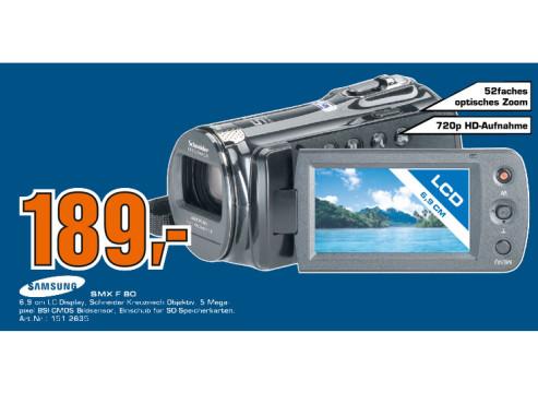 Samsung SMX-F 80 ©Saturn