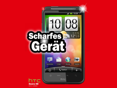 HTC Desire HD © Media Markt