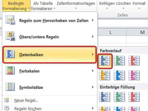 Schritt 5 ©Microsoft Excel 2010