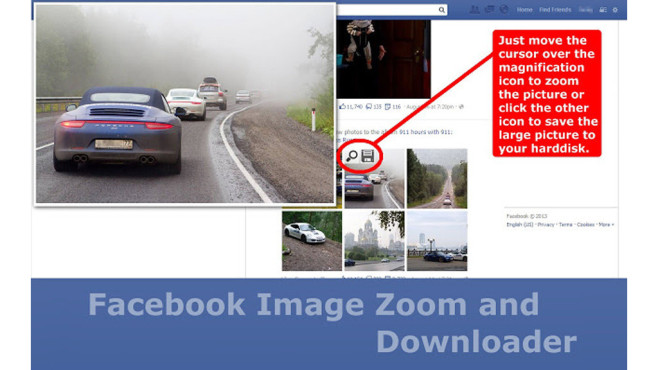 Fotos: Facebook Image Zoom and Downloader © startpage24