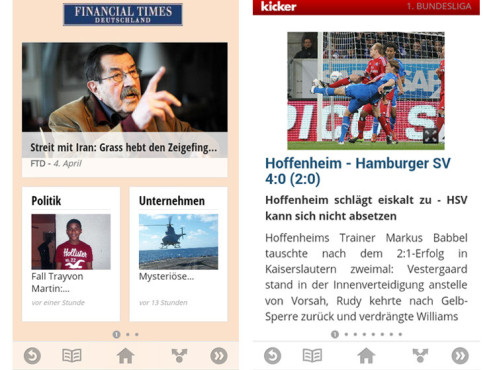 Google Currents © COMPUTER BILD