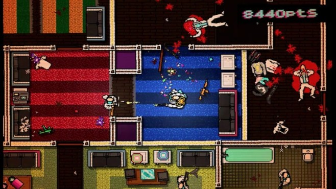 Actionspiel Hotline Miami © Devolver Digital