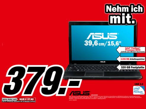 Asus A54C-SO325V ©Media Markt