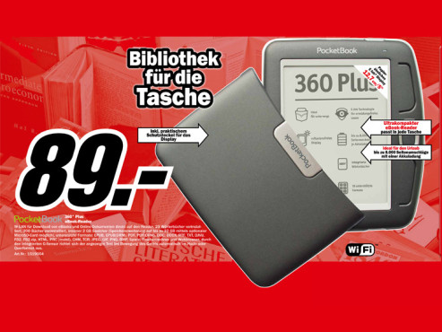 Pocketbook 360 Plus © Media Markt