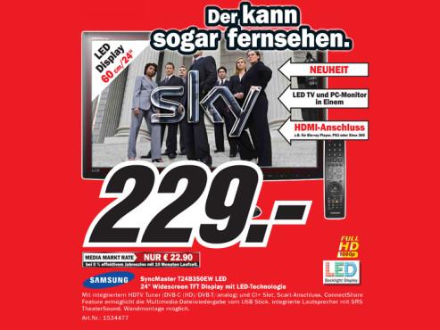 Samsung SyncMaster T24B350EW ©Media Markt