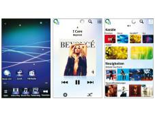Android-Oberfl�che Sony NWZ-Z1050 ©COMPUTER BILD