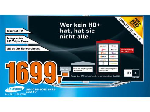 Samsung UE40ES8090 ©Saturn