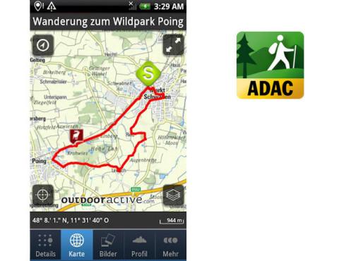 ADAC Wanderführer 2012 ©ALPSTEIN Tourismus GmbH & Co.KG