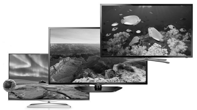 COMPUTER BILD-Montage ©Philips, Samsung, LG