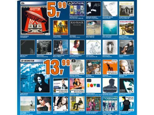 Diverse CDs ©Saturn