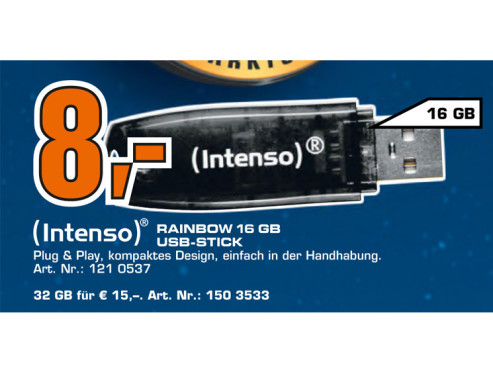 Intenso Rainbow Line 16GB © Saturn