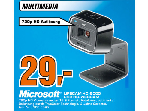 Microsoft LifeCam HD-5000 © Saturn