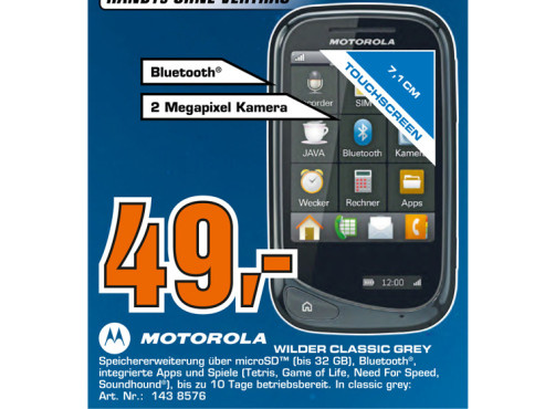 Motorola Wilder © Saturn