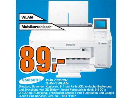 Samsung CJX-1050 ©Saturn