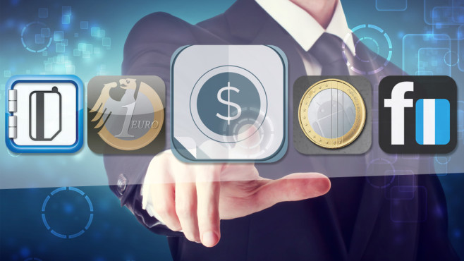 30 Apps für Finanzjongleure © Fotolia.com---Melpomene, stoeger it, Buhl Data, Protecs IT, Frank Weber