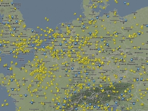 Screenshot Flightradar24 © COMPUTER BILD