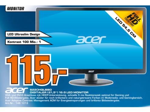 Acer S220HQLBbd ©Saturn